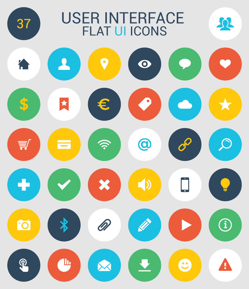 User Interface Flat Icons