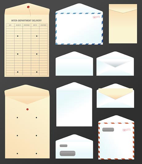Free Vector Art Envelope Icons The Graphic Mac
