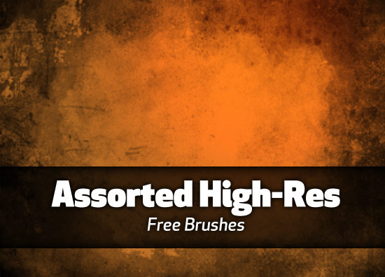Assorted high-res brushes