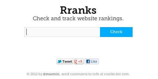 Rranks