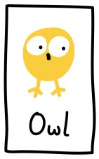 The Graphic Recorder - Visual Vocabulary - Ed Emberley Tribute - Owl