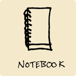 Spiral Notebook Visual Vocabulary - The Graphic Recorder - Doug Neill