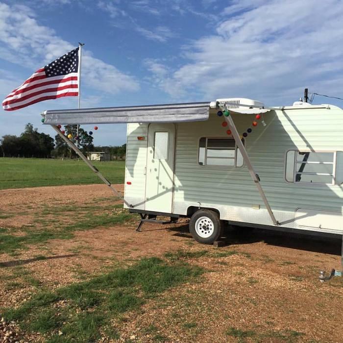Vintage Camper Redo