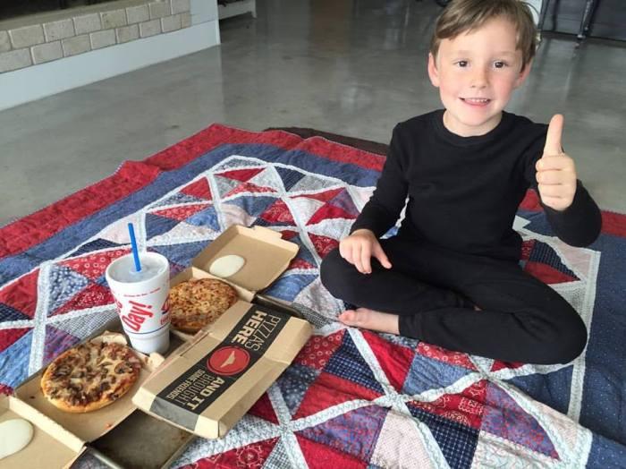 Pizza Pajama Picnic