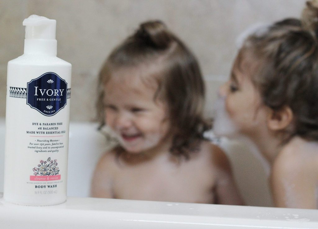 toddler bath time made easy