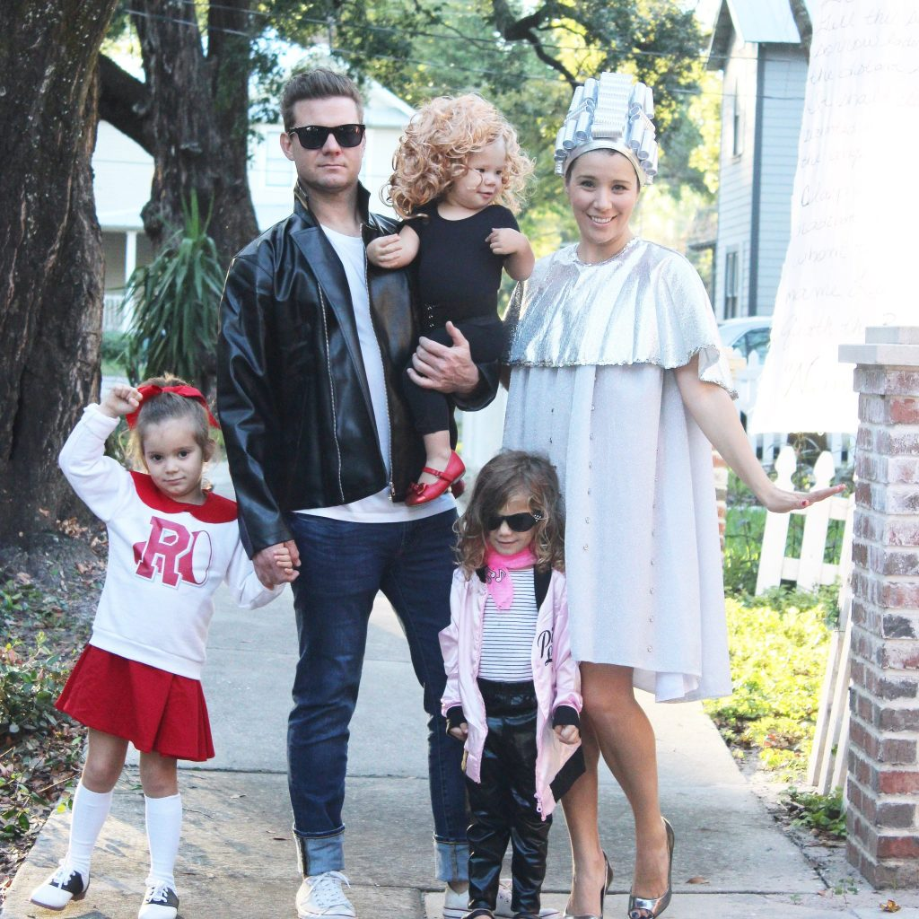 family grease halloween costume