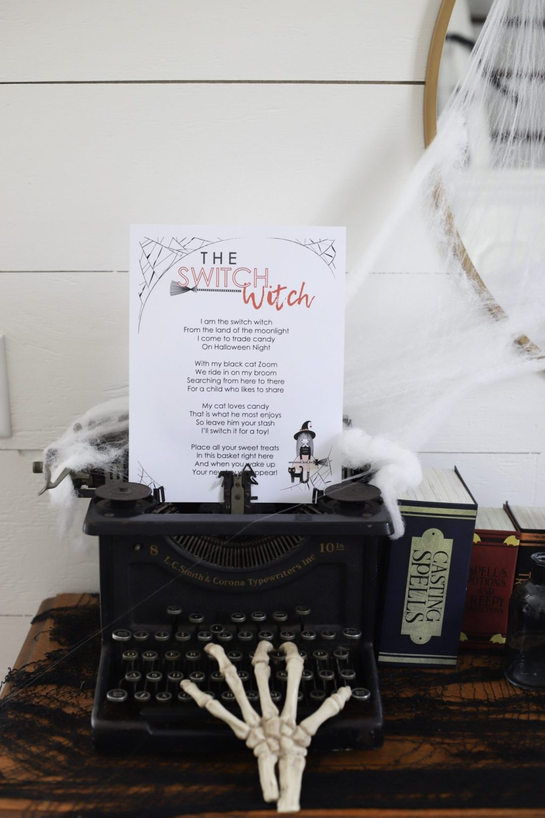 what is the switch witch - switch witch poem