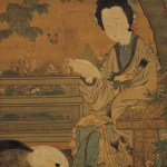 Lady Chou Wen-chu, Five Dynasties, 10th Century, The cat in the art of the Dark Ages