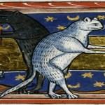 1225-50BodleianLib.MSBodleyBestiary764Folio51rEngland