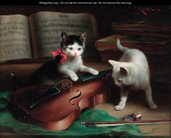 cats in art