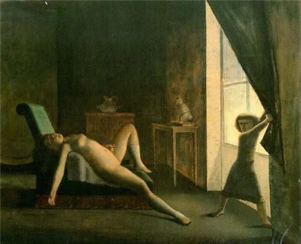 The Room 1953 Balthus' Cats