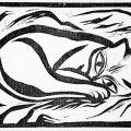 Georg Schrimpf, Sleeping Cat