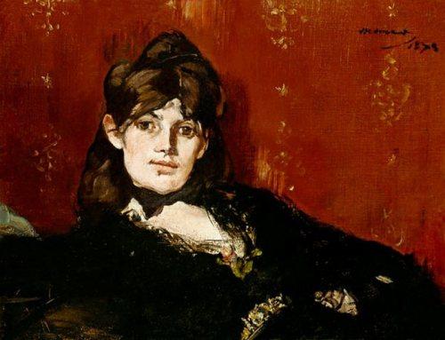 Berthe Morisot by Edouard Manet