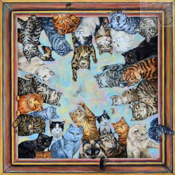Martine Coppens, cats in art 4