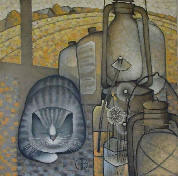 Natalia Trubina, Grey Cat