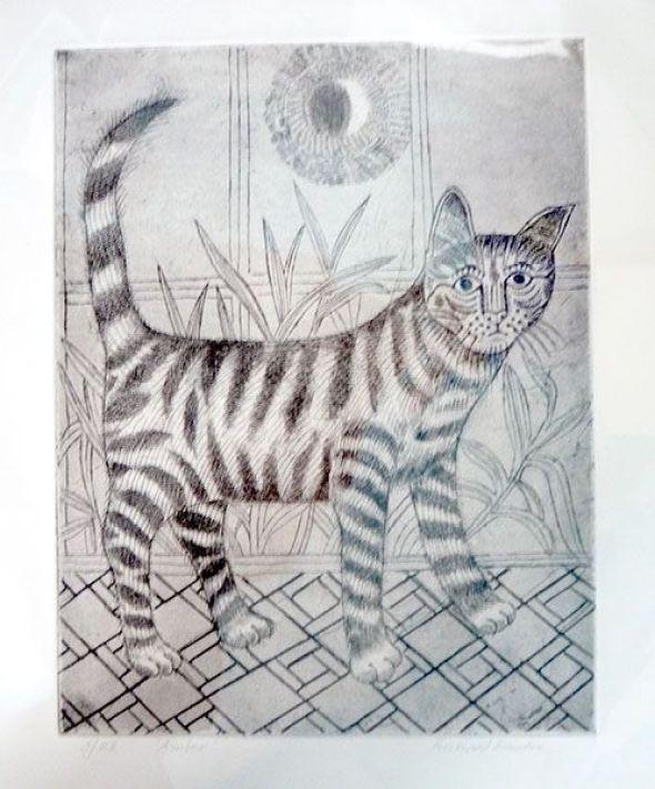 Tabby Cat, Richard Bawden