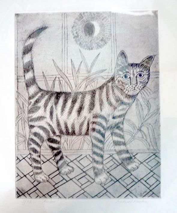 Tabby Cat, Richard Bawden