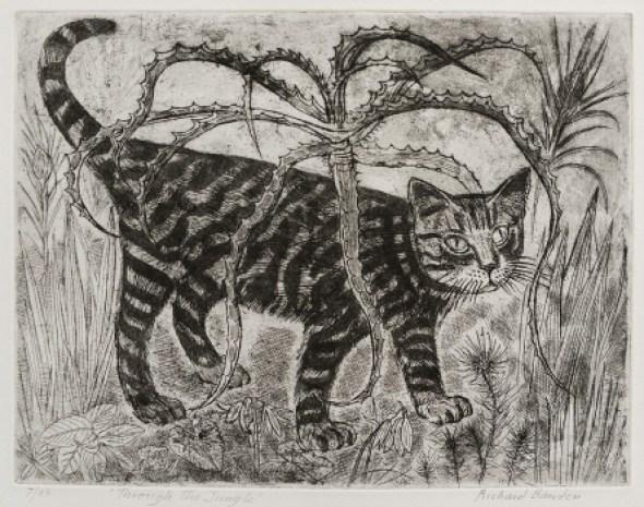 Through the Jungle, Richard Bawden