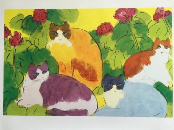 Walasse Ting, Cats