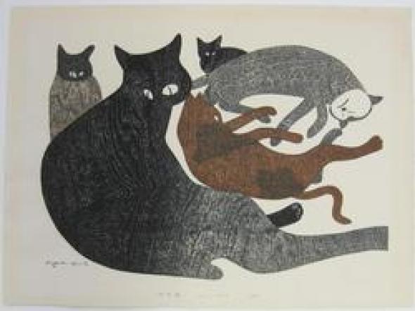 Cats, 1974 Kiyoshi Saito