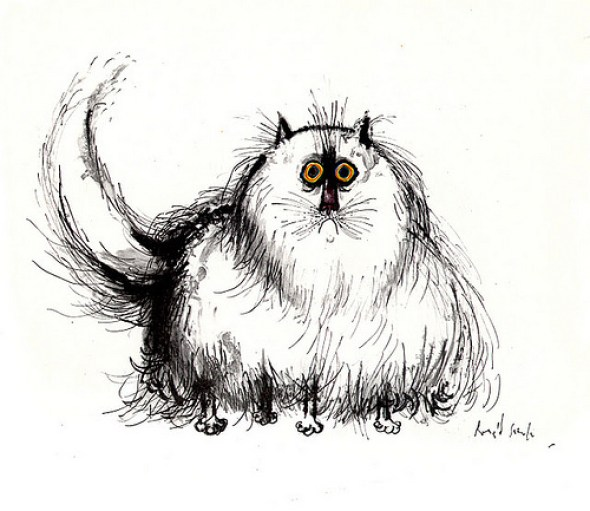 Puffy Cat, Ronald Searle