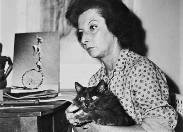 Remedios Varo and her Cat