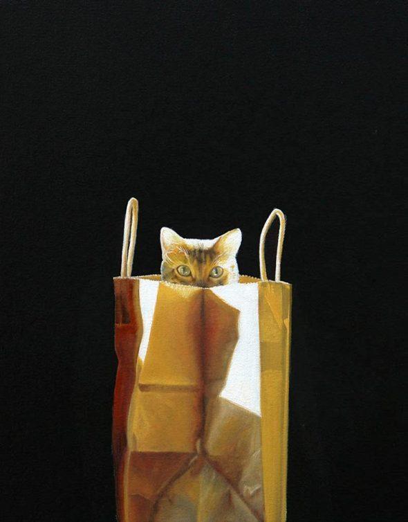 Cat in a Bag 2, Karen Hollingsworth