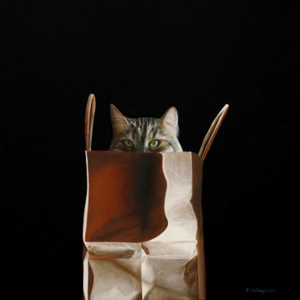 Cat in a Bag 3, Karen Hollingsworth