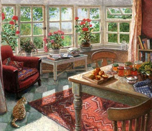 Orange Preserves with Orange Tabby Cat, Stephen Darbishire
