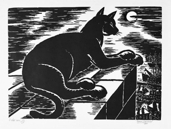 Black Cat 2 Frans Masereel