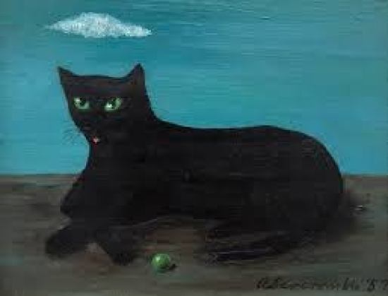 Black Cat, Cloud and Ball Abercrombie