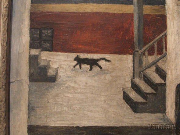 Black Street Cat, Gertrude Abercrombie