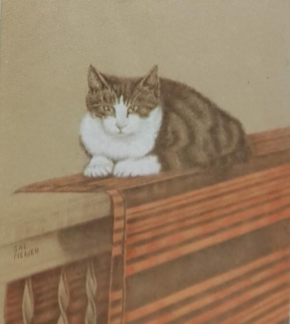 Cat on a Carpet, Sal Meijer