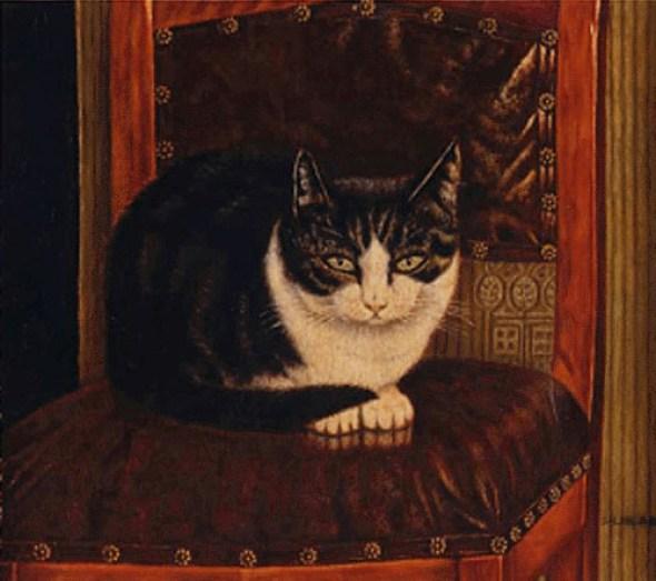 Cat on a Chair, Sal Meijer