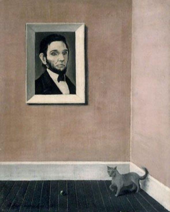 Cat with Portrait, Abercrombie