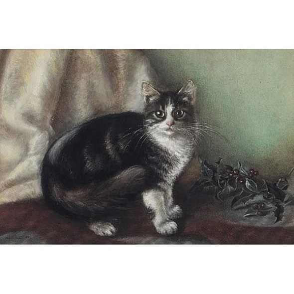 Ada Eliza Tucker, Mistletoe, 1876