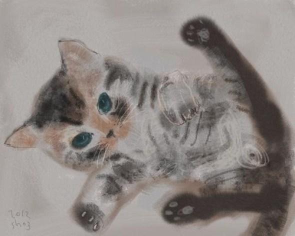 Shozo Ozaki, Kitten