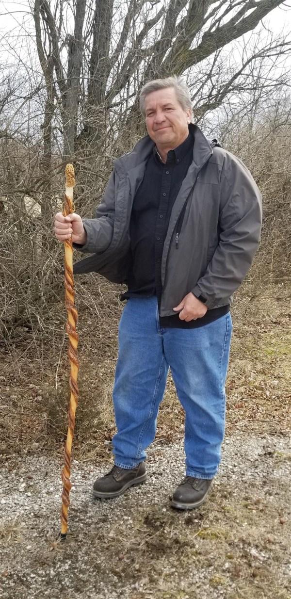 Morel Hiking Stick
