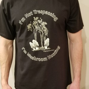 Black Morel T-shirt