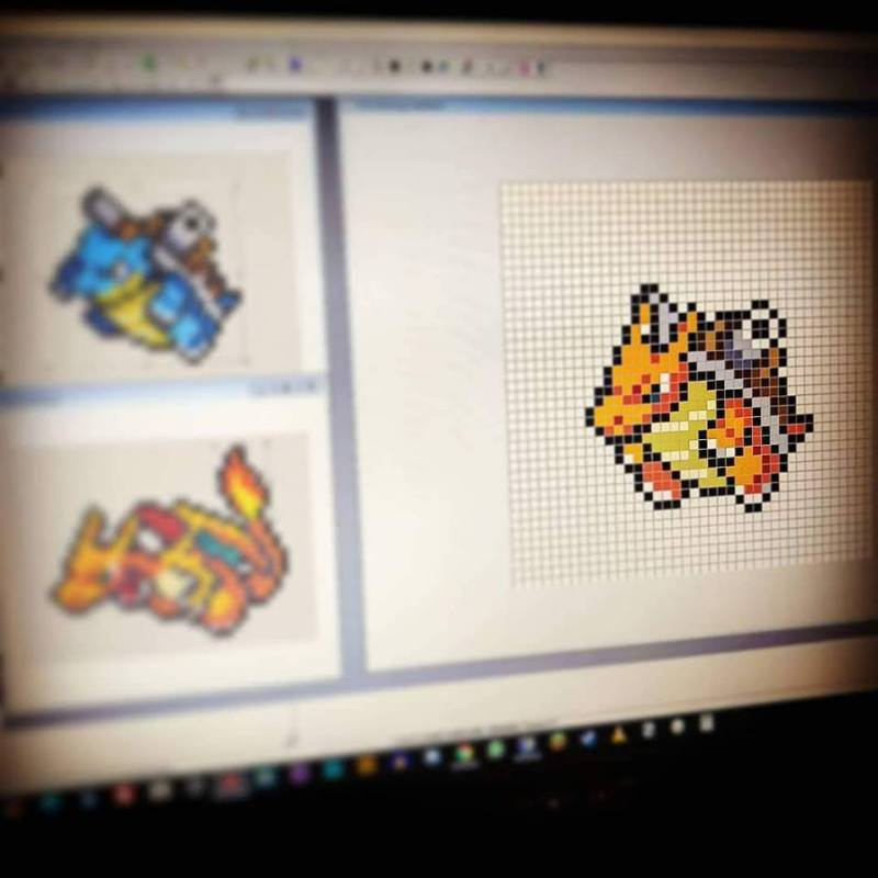 projet-fusion-photo-1-pokemon-pixelart-pixelcraft-pixelbeads-perlerbeads-perlerart-hama-hamabeads-hamasprites-artkal-artkalbeads-fusebeads-retro-gaming-sprite-design-tutoriel-pattern
