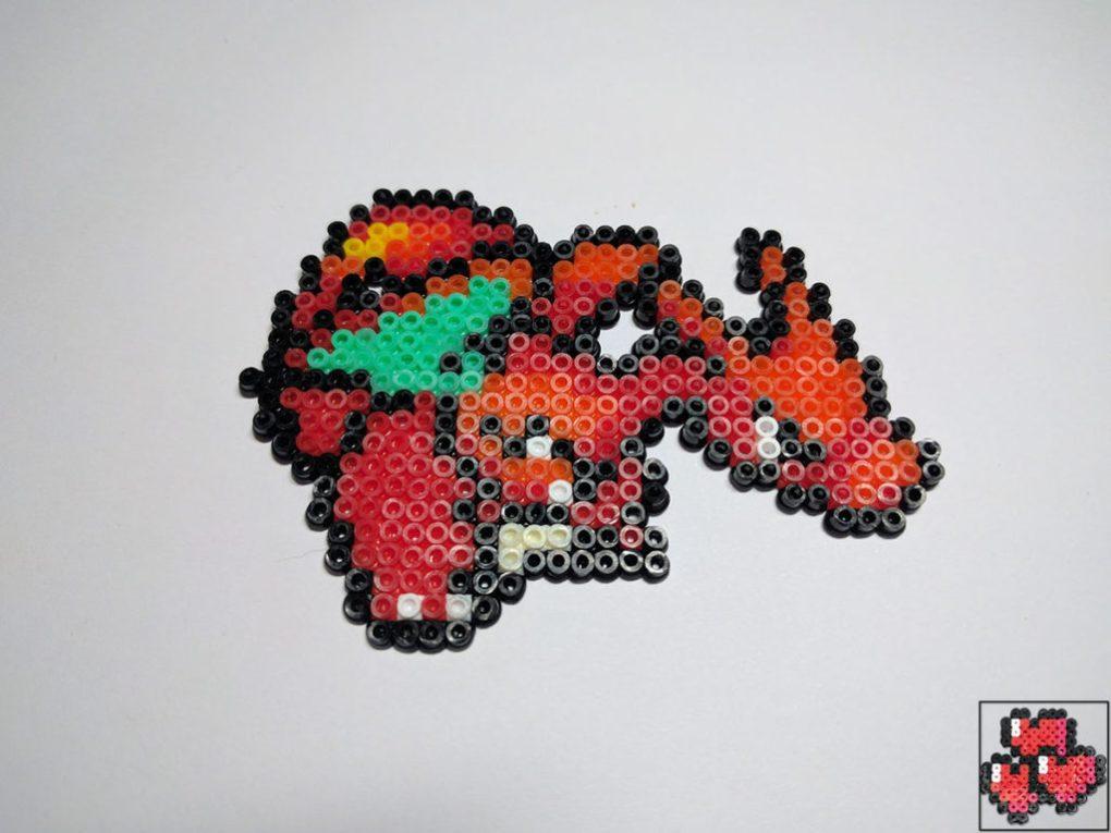 pixel-pixelart-pixelcraft-pixelbeads-perlers-perlerbeads-perlerart-beads-beadspearls-hama-hamabeads-hamasprites-hamacrafts-hamaperler-artkal-artkalbeads-fusebeads-8bit-retrogaming-gaming-perlercrafts-homemade-handmade-sprite-design-tutoriel-pattern-pokemon-fusion-pokemon-dracaufeu-charizard-photo