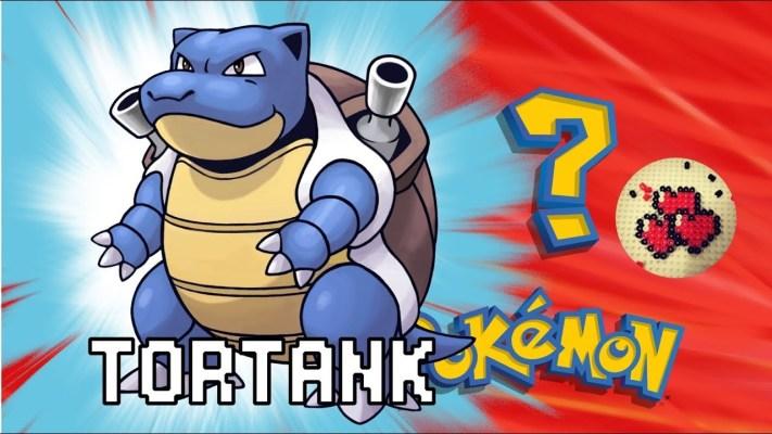 tortank-video-pokemon-pixelart-pixelcraft-pixelbeads-perlerbeads-perlerart-hama-hamabeads-hamasprites-artkal-artkalbeads-fusebeads-retro-gaming-sprite-design-tutoriel-pattern