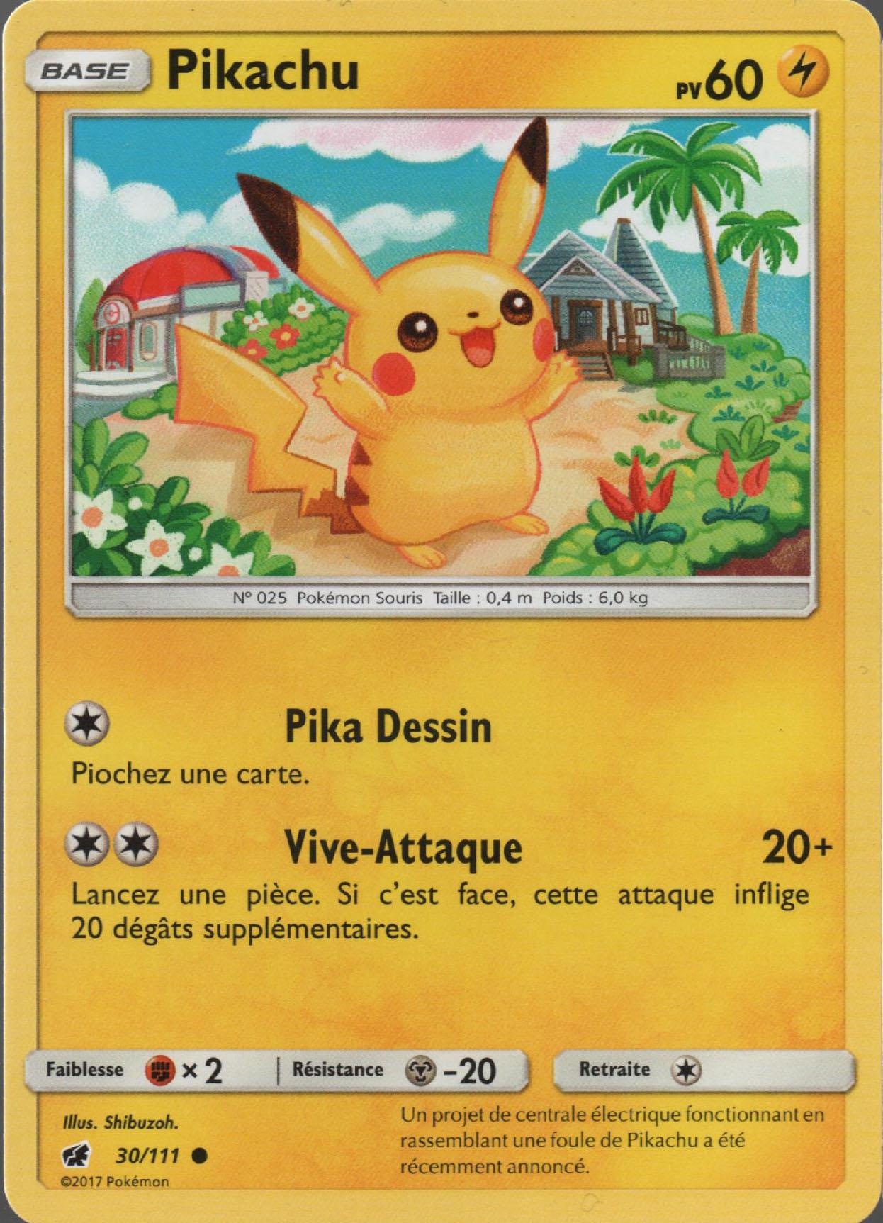 30 111 Pikachu Sl4 Invasion Carmin Fr The Great Pearler