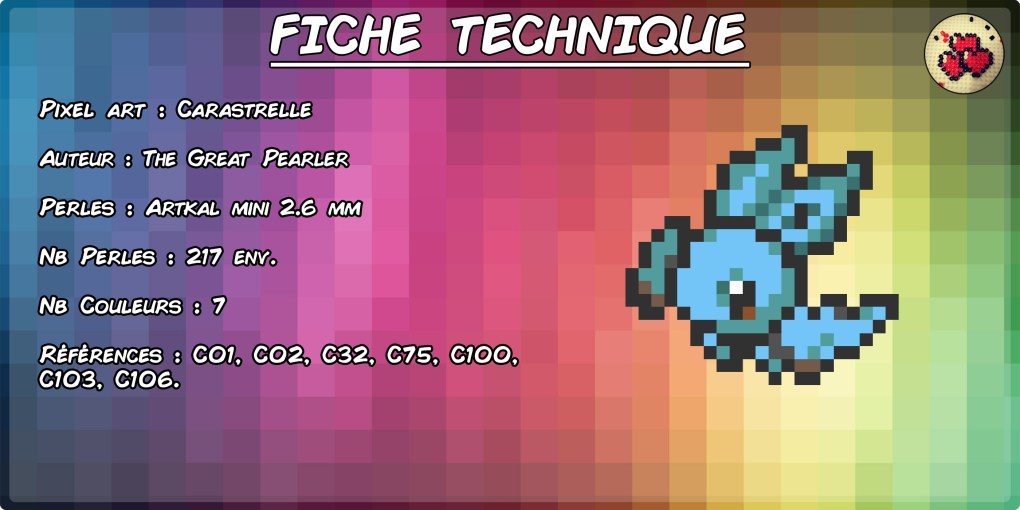 carapuce-sonistrelle-carastrelle-fiche-pokefusion-pokemon-pixel-card-pixelart-pixelcraft-pixelbeads-perlerbeads-perlerart-hama-hamabeads-hamasprites-artkal-artkalbeads-fusebeads-retro-gaming-sprite-design-tutoriel
