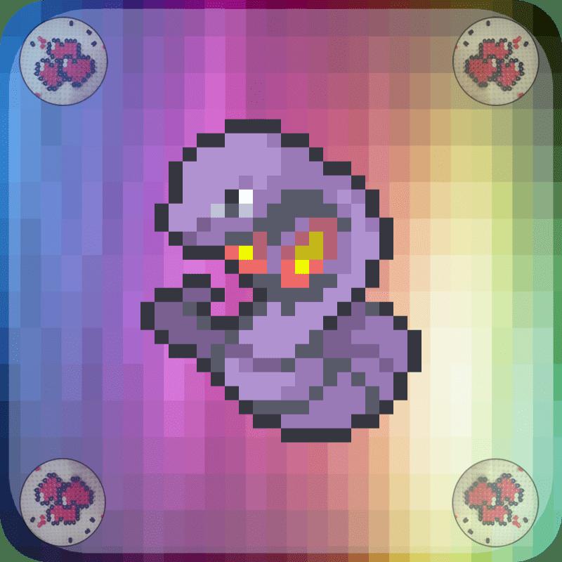 arbok-vignette-pokemon-pixel-card-pixelart-pixelcraft-pixelbeads-perlerbeads-perlerart-hama-hamabeads-hamasprites-artkal-artkalbeads-fusebeads-retro-gaming-sprite-design-tutoriel-modele