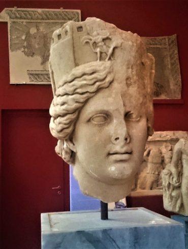 Σπάρτη, Λακωνία, Αρχαιολογικό Μουσείο, Ιερό Αρτέμιδος Ορθίας, Πελοπόννησος, μάσκες