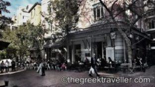 «Αθήνα, Αττική, Πλατεία Αγίας Ειρήνης, Τσίλερ, οδός Αιόλου, Ernst  Ziller, Υφασματάδικα»