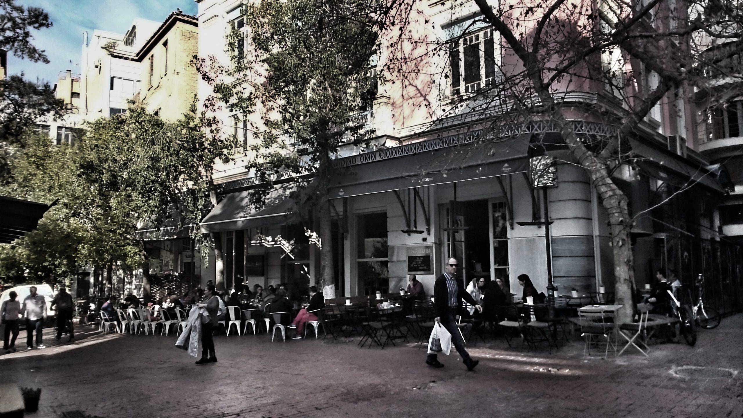 Αθήνα, Αττική, Πλατεία Αγίας Ειρήνης, Τσίλερ, οδός Αιόλου, Ernst Ziller, Υφασματάδικα