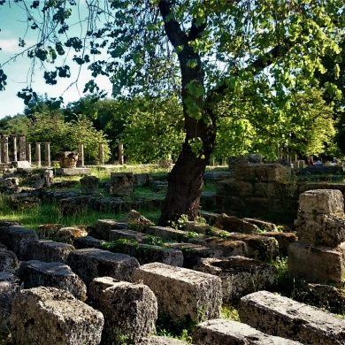 Ολυμπία, Πελοπόννησος, Γανυμήδης