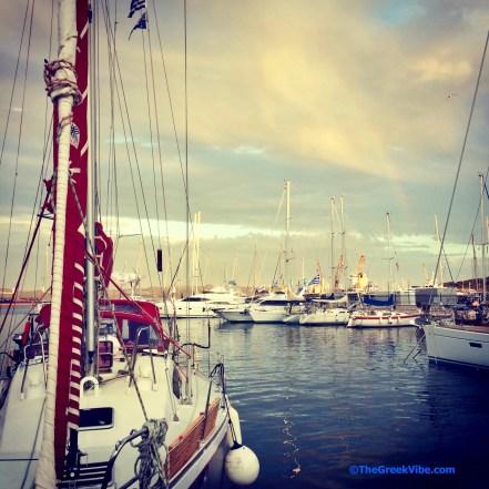 Greek sailboat